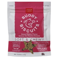 Cloud Star Soft & Chewy Buddy Biscuits Sweet Potato 6 oz.