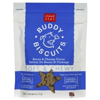 Cloud Star Soft & Chewy Buddy Biscuits Bacon & Cheese 6 oz.
