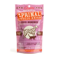 Primal Turkey Liver Munchies 2 oz.