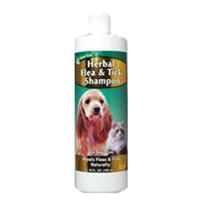 NaturVet Herbal Flea Shampoo 16oz