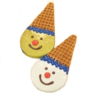 Pawsitively Gourmet Bakery Standards Collection:Clown Cones Peanut Butter Flavor