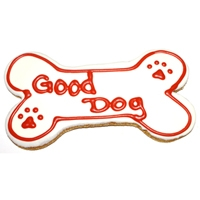 "Pawsitively Gourmet 6"" Good Dog Bone Chicken Liver Flavor 6/Case"