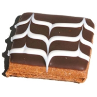 Pawsitively Gourmet Bakery Standards Collection:  Carob Fudge Brownie Peanut Butter Flavor