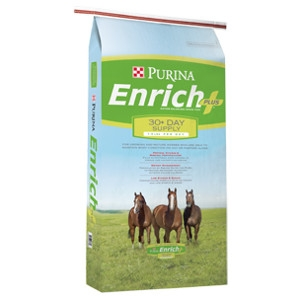 Purina Enrich Plus™ Horse Feed