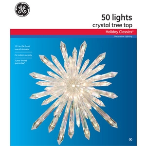 GE Crystal Tree Top