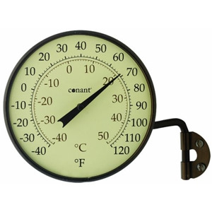 Conant Custom Brass Dial Thermometer