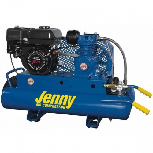 JENNY AIR COMPRESSOR 5.5HP GAS (WHEELBARROW)