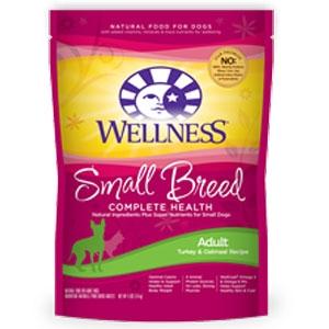 Wellness Small Breed Adult Dog Food 4lb