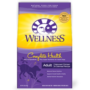 Wellness Complete Health Chicken Dog Food 30lb