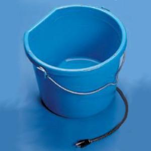 Heated 5 Gallon Flat-Back Bucket