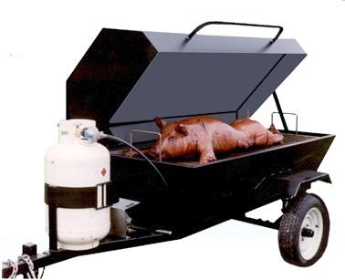 6ft Pig Roaster w/ Propane Tank