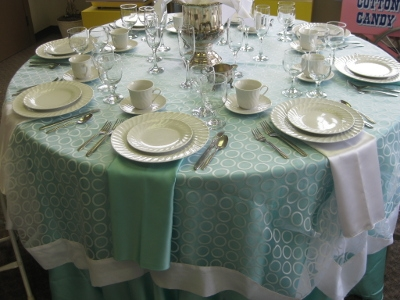 Dinnerware Rental