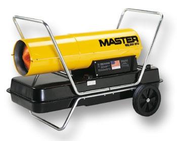 Master 165,000 btu Kerosene Heater