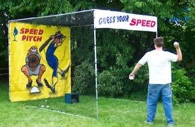 Speed Pitch Radar Throw