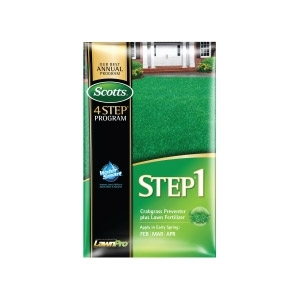 Scotts® Lawn Pro® Step 1 Crabgrass Preventer Plus Fertilizer