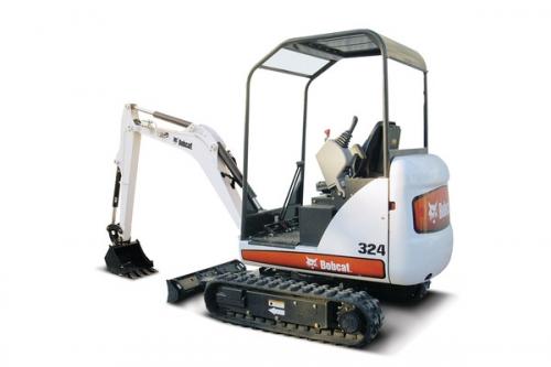 Backhoe/ Mini Excavator 8' 6''