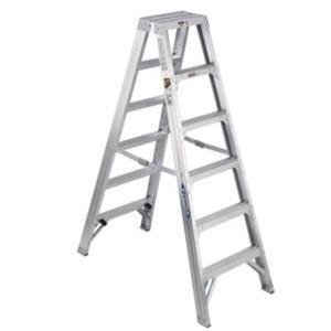 Aluminum Multi-use Twin 6' Step Ladder
