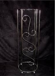 PLANT STAND SILVER