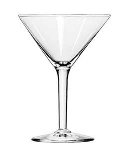 Glassware, Martini 6oz