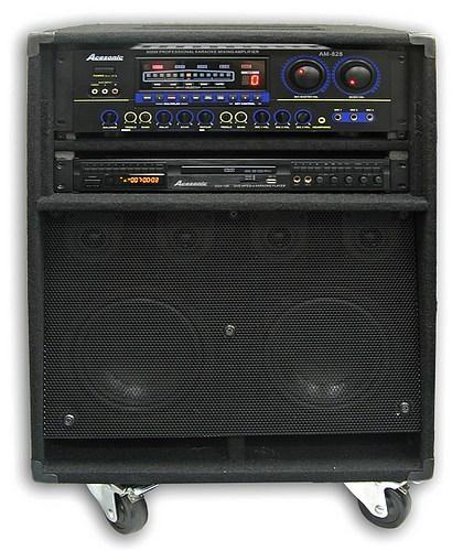 Karaoke Cabinet w/Screen