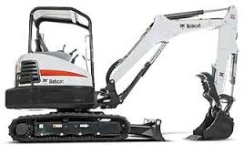 Bobcat, E35 33.2 HP Mini Compact Excavator