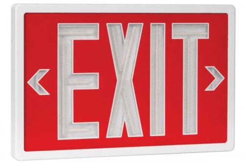 Tent, Exit Sign