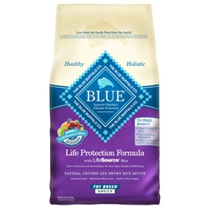 Blue Buffalo Toy Breed Adult Chicken & Brown Rice Formula