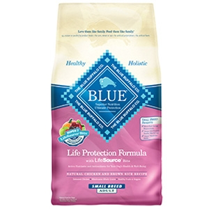 Blue Buffalo Small Breed Adult Chicken & Brown Rice Life Protection Formula