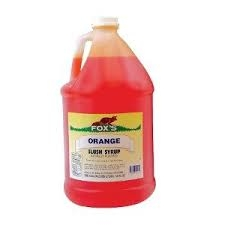 SNOCONE SYRUP, ORANGE