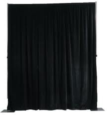 Pipe & Drape, Black & White Bango Drapes