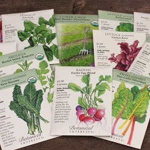 Botanical Interests® Organic Seeds