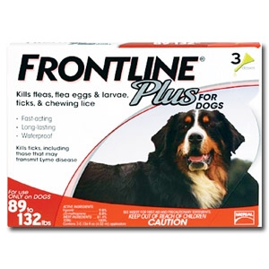 Frontline® Plus Dog Flea & Tick Treatment