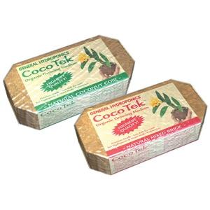 CocoTek® Natural Coconut Coir Brick Organic Growing Medium