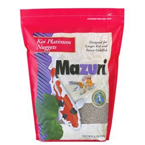 Mazuri® Koi Platinum Nuggets