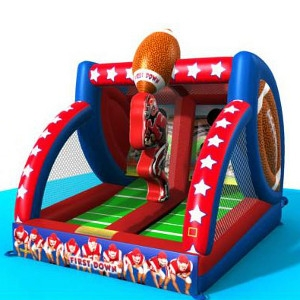 First Down Inflatable, Ninja Jump