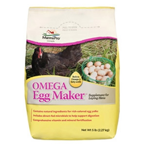 MannaPro® Omega Egg Maker™ Supplement for Laying Hens