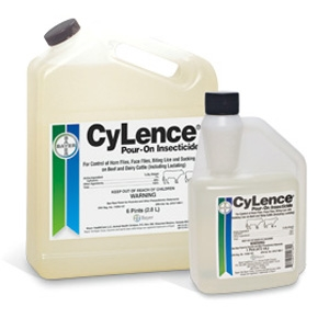Bayer CyLence Pour On Insecticide 1 Pt