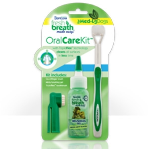 Tropiclean Fresh Breath Liquid Floss/Trifloss Ball Set