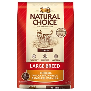 Natural Choice® Large Breed Senior Chicken & Whole Brown Rice & Oatmeal Formula Dog Food