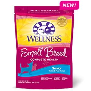 Wellness® Small Breed Senior Recipe Dog Food