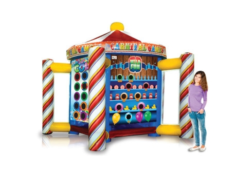 EyeCandy 5 in 1 Inflatable Carnival Game