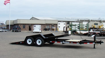 Felling 20ft. 12000lb. Tilt Bed Trailer