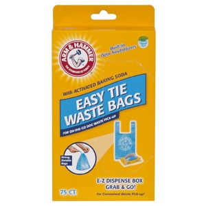 Arm & Hammer™ Easy Tie Waste Bags 75 CT