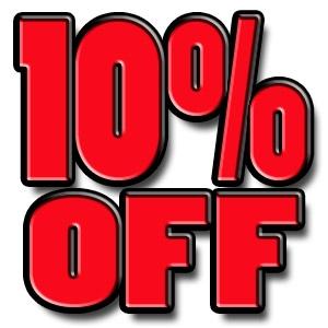 10% off 1-day rental of lawn & garden equipment