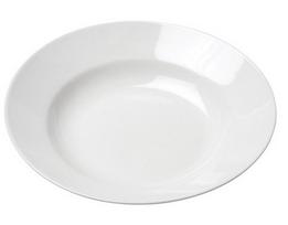 Classic White Rim Soup Bowl 8