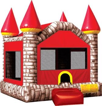 Ninja Jump, Camelot Castle Brown Large