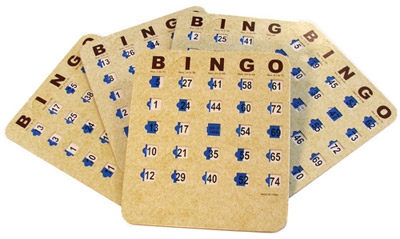 Bingo Cards with Shutter - Slide