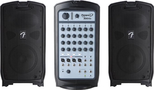 Fender Pro Series Portable Sound System, 300 w