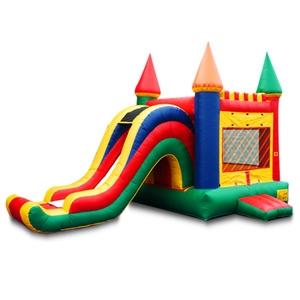 Inflatables Multi-Color Side Slide