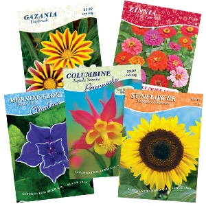 Buy 12 Get 1 Free: Livingston Seed Packets